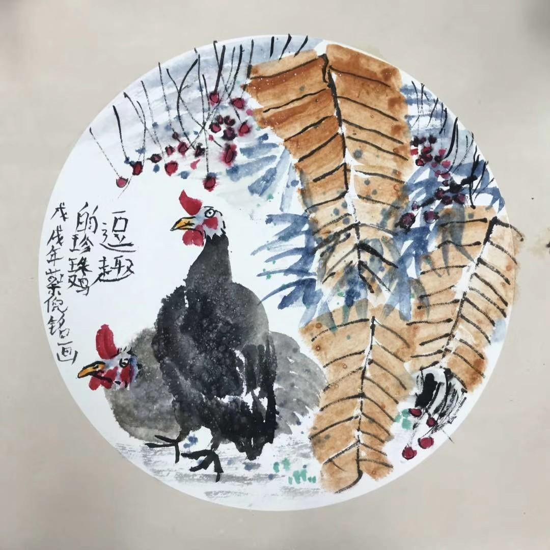 正人少儿艺术学院蔡倪铭作品