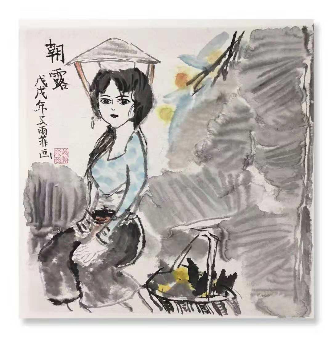 正人少儿艺术学院吴雨菲作品