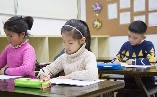 家长重视孩子学书法,孩子才有动力!