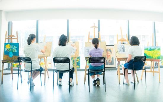 艺术学习没有假期