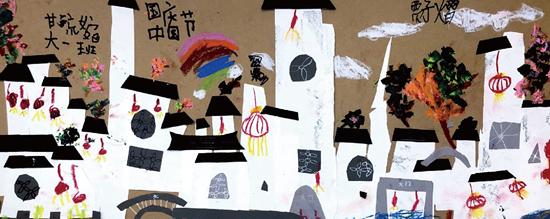 正人少儿艺术彩画基础集体创作