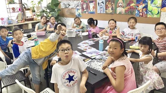 画画一段时间,孩子就不愿学画画了?