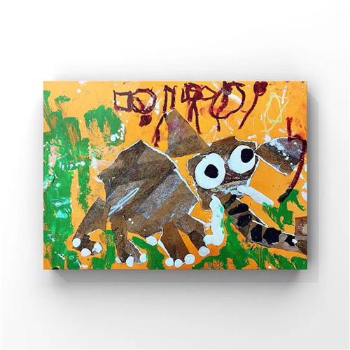 正人艺课堂——看看正人小学员的美术作品《大象》