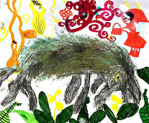孩子学画画,跑在前面的不一定是胜利者