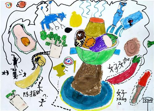 孩子学画画,孩子才四岁,他有学习绘画的能力吗?