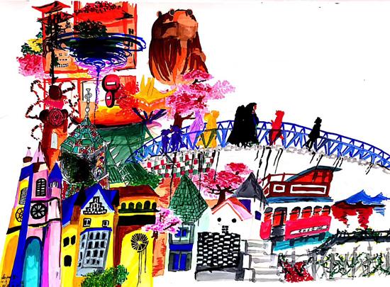 """孩子绘画,也是在与外界""""聊天"""""""