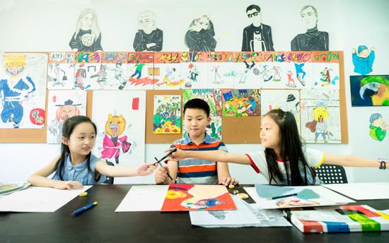 孩子不爱学习,但爱上美术课