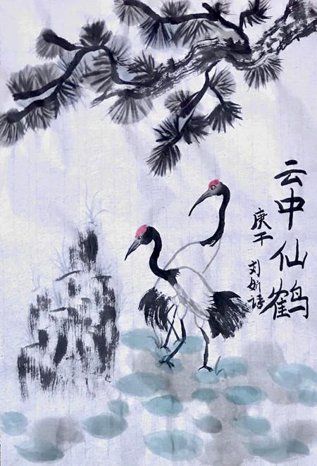 正人少儿艺术刘妡语作品