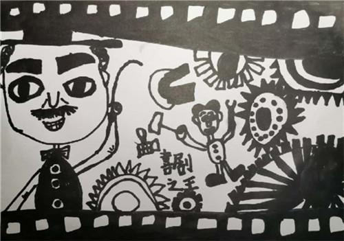孩子学画画:经常画抽象画的孩子可不是不会画画哦!