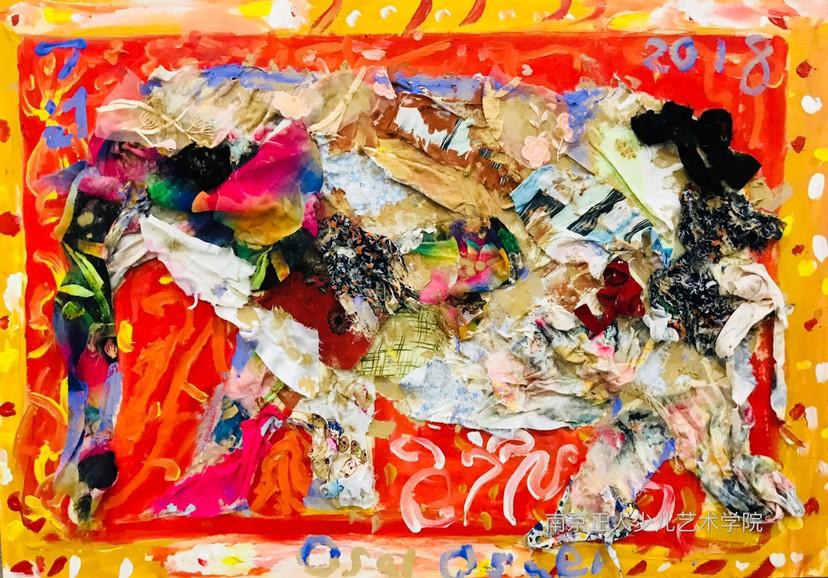 让美术去打开孩子蓬勃的创造力!